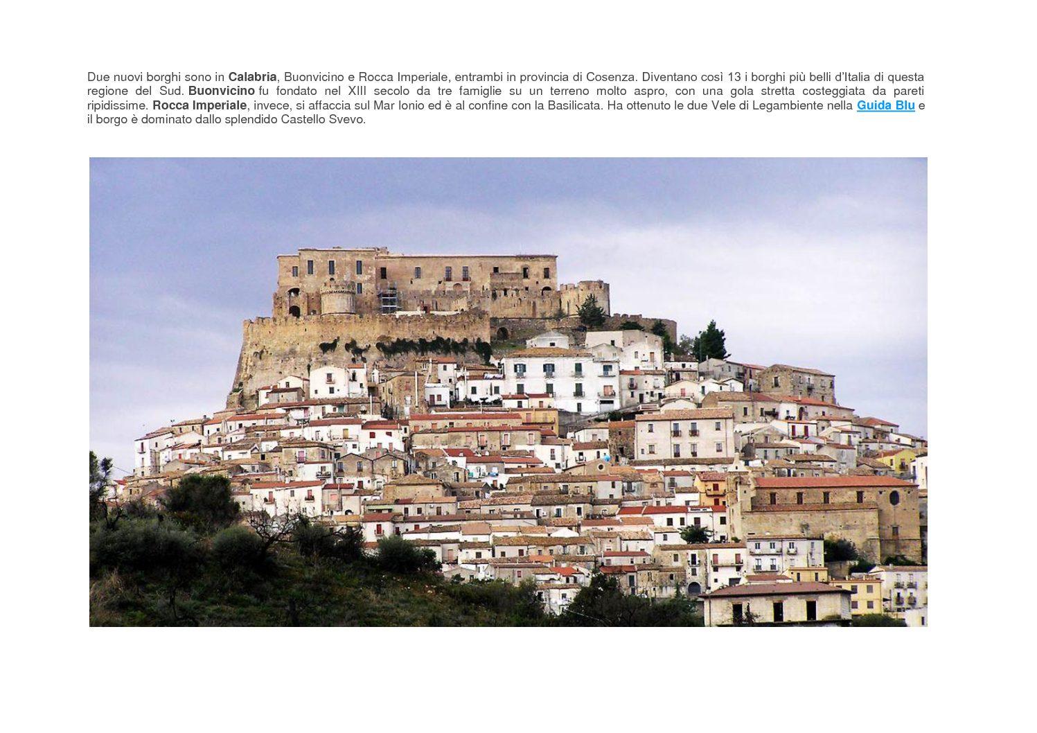Plesso immobiliare Rocca Imperiale